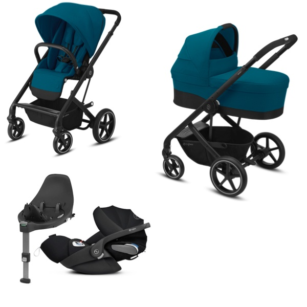 Cybex Balios S Lux Travelsystem - River Blue