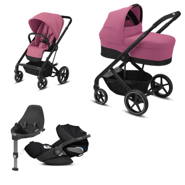 Cybex Balios S Lux Travelsystem - Magnolia Pink