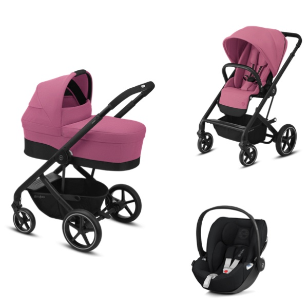 Cybex Balios S Lux Travelsystem 3i1 - Magnolia Pink