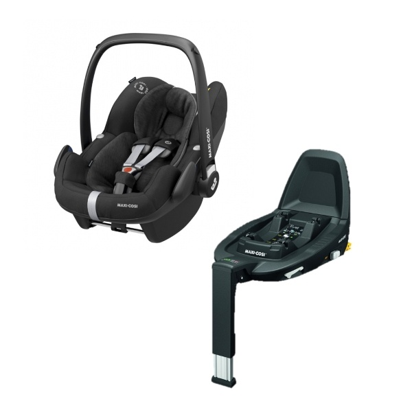 Maxi Cosi Pebble Pro i-size inkl Base - Essential Black