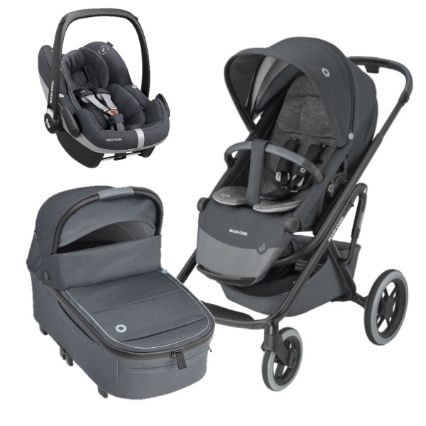 Maxi-Cosi Lila XP Travelsystem 3i1 - Essential Graphite