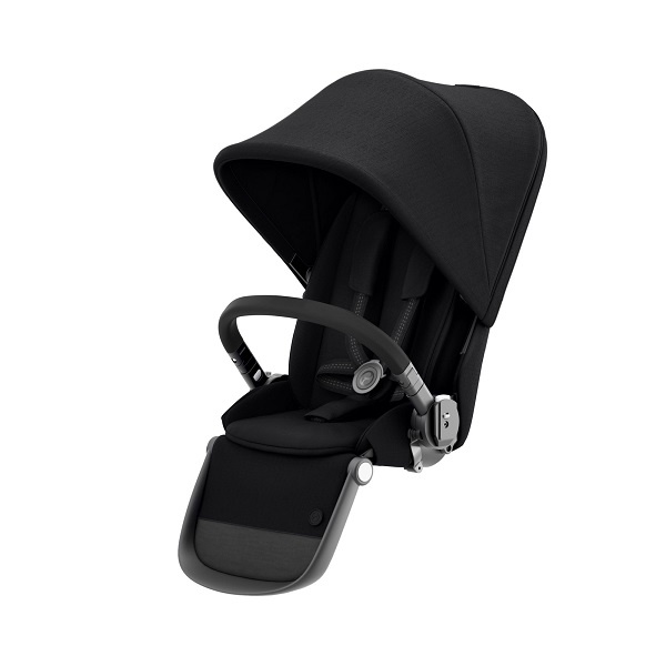 Cybex Gazelle S Seat Unit - Deep Black/Black