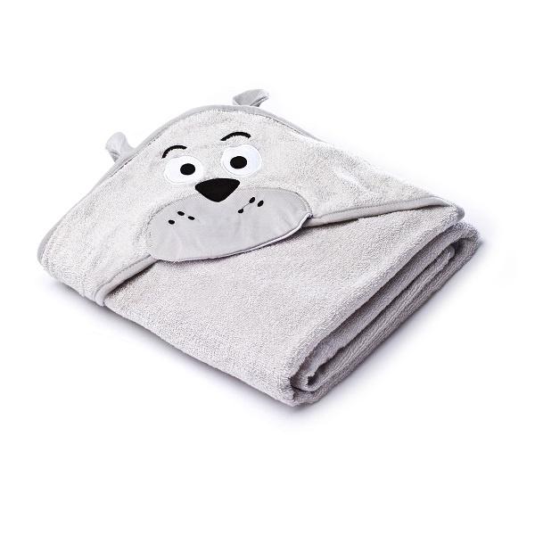 Sensillo Hettehåndkle - Gray Teddy Bear