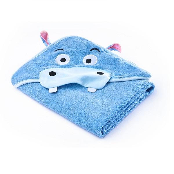 Sensillo Hettehåndkle - Blue Hippo