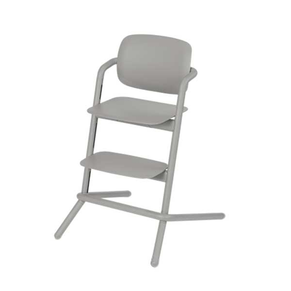 Cybex LEMO chair WOOD (høystol) Storm Grey