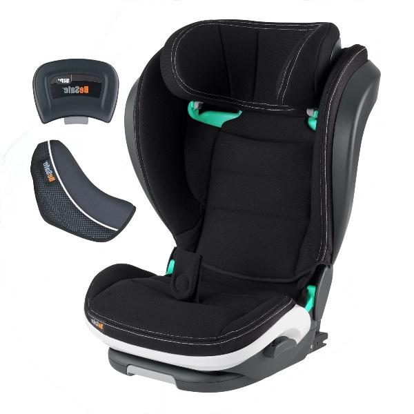 BeSafe iZi Flex FIX i-Sizebilstol- Premium Car Interior Black - BILPAKKE inkl i pris