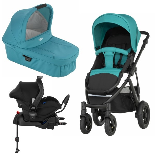 Britax Smile 2 3i1 inkl Base - Lagoon Green