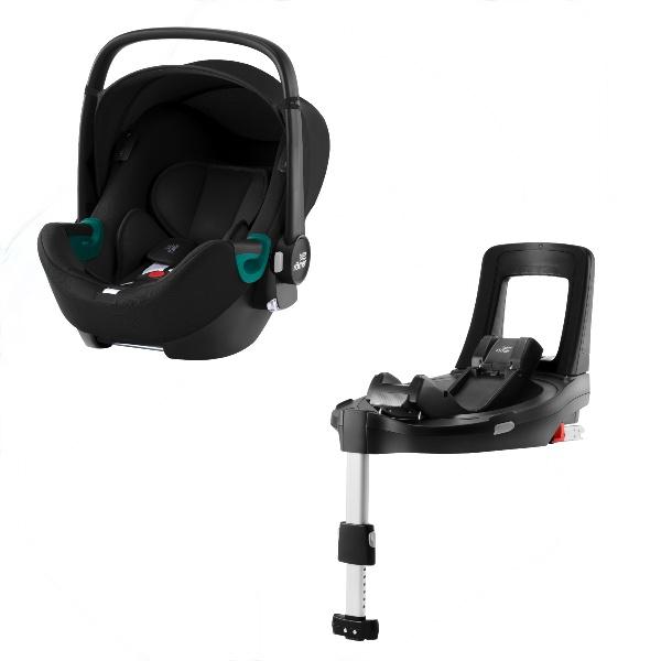 Britax Baby-Safe iSense m/Base - Space Black