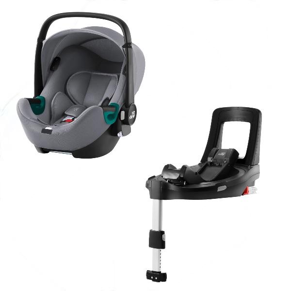 Britax Baby-Safe iSense m/base - Frost Grey