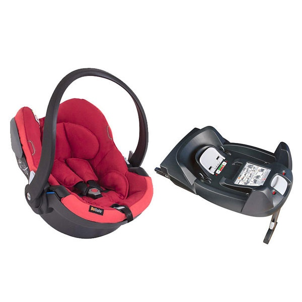 Besafe iZi Go X1 inkl isofix base Ruby Red