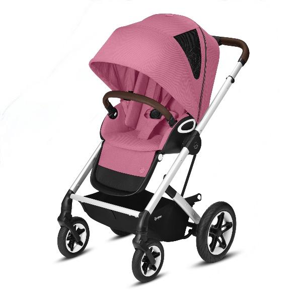 Cybex Talos S Lux - Silver/Magnolia Pink