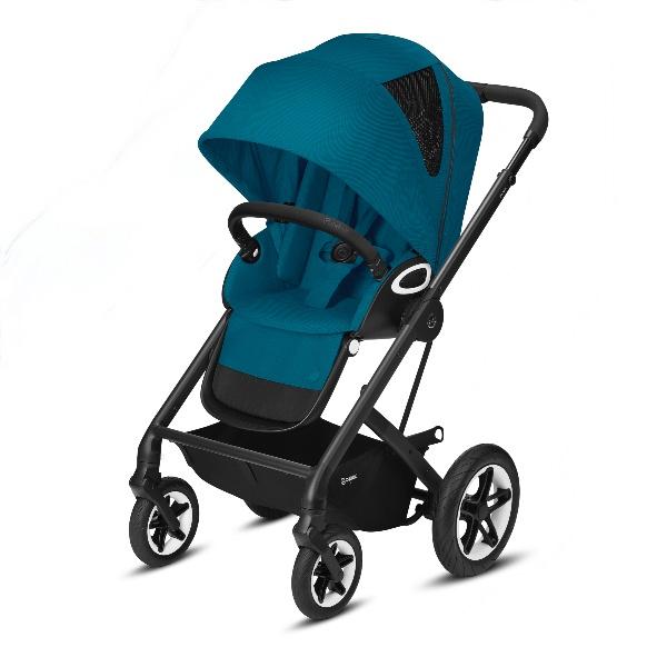 Cybex Talos S Lux - Black/River Blue