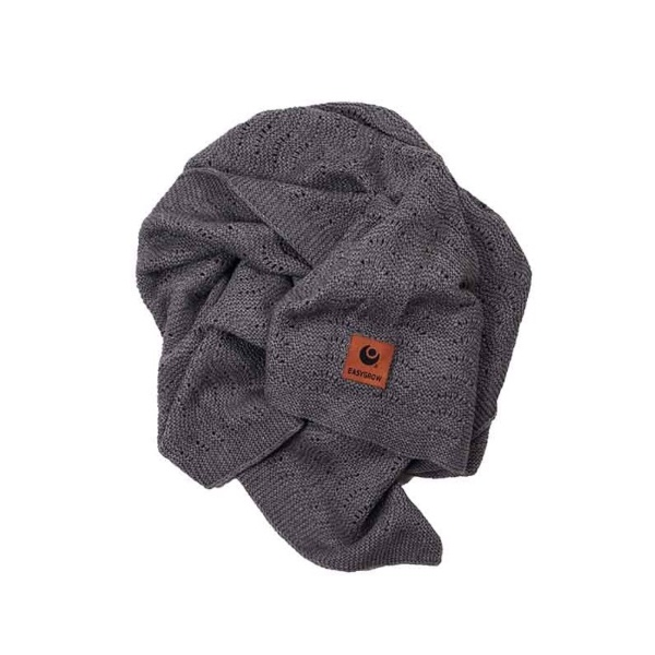 Easygrow Grandma Wave Babyteppe - Dark Grey