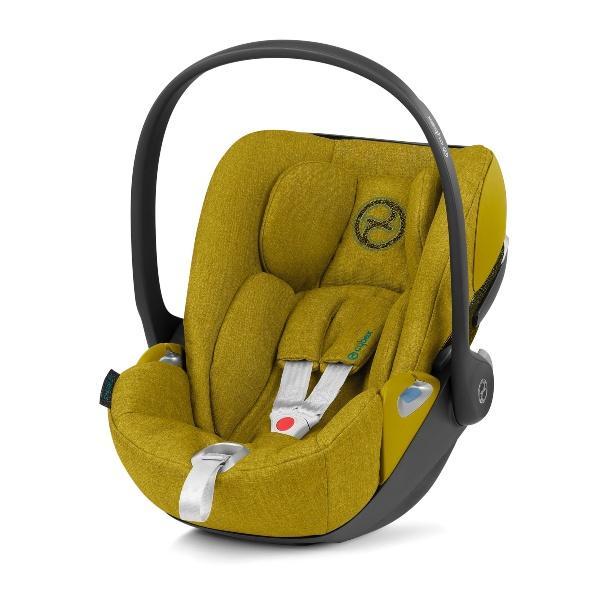 Cybex Cloud Z i-Size Plus Babybilstol- Mustard Yellow