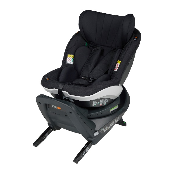 BeSafe iZi Turn i-Sizebilstol småbarnstol- PRISMATCH  - Fresh Black Cab