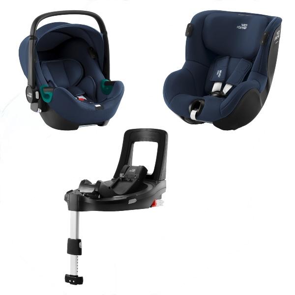 Britax Baby-Safe iSense & Dualfix iSense m/base - Indigo Blue