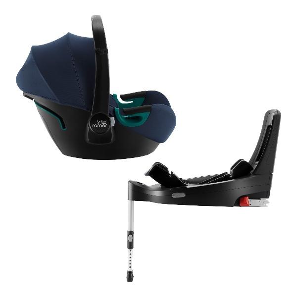Britax Baby-Safe 3 i-Size m/base,Babybilstol- Indigo Blue