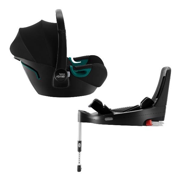 Britax Baby-Safe 3 i-Size m/base, Babybilstol- Space Black