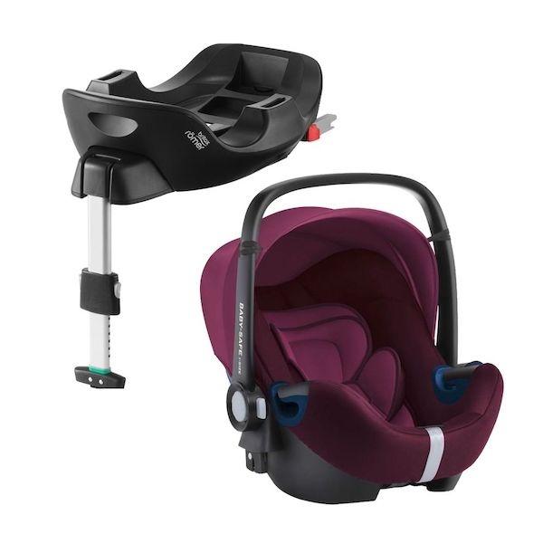 Britax Baby-Safe² i-size inkl. i-size flex base, Burgundy utstiling