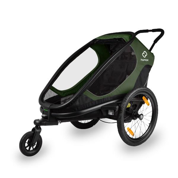 Hamax, Outback One, Multisportsvogn - Green/Black