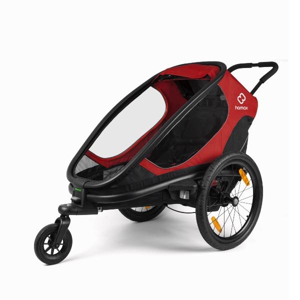 Hamax, Outback One, Multisportsvogn - Red/Black