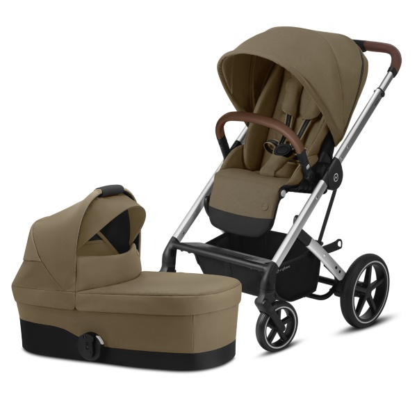 Cybex Balios S Lux, Duo - Classic Beige/Silver