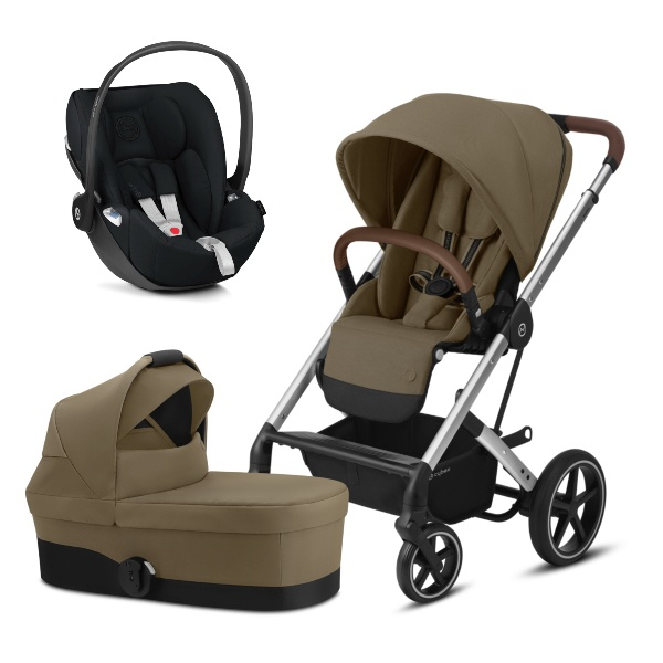 Cybex Balios S Lux, Travelsystem 3i1 - Classic Beige/Silver