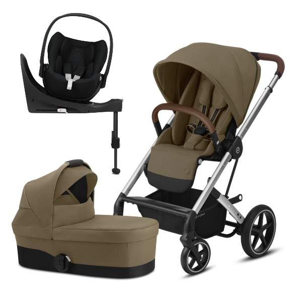 Cybex Balios S Lux, Travelsystem 4i1 - Classic Beige/Silver