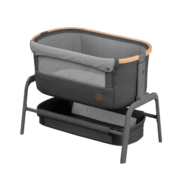Maxi-Cosi, Iora Bedside Crib, Co-sleeper - Essential Graphite