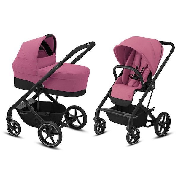 Cybex Balios S Lux Duo- Magnolia Pink