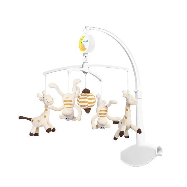 Universell Elektrisk Uro - monkey / giraffe