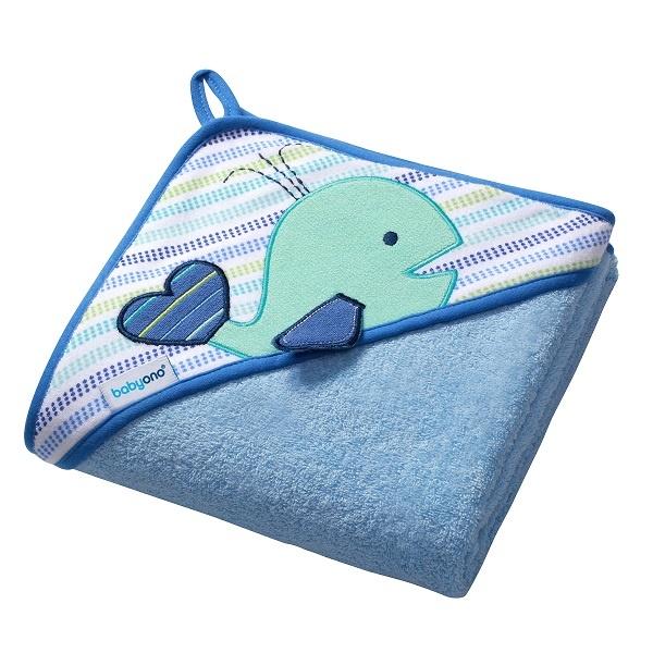 BabyOno Hettehåndkle Blå