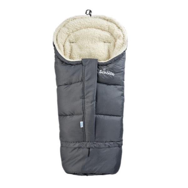 Sovepose 3i1 - Mørk grå