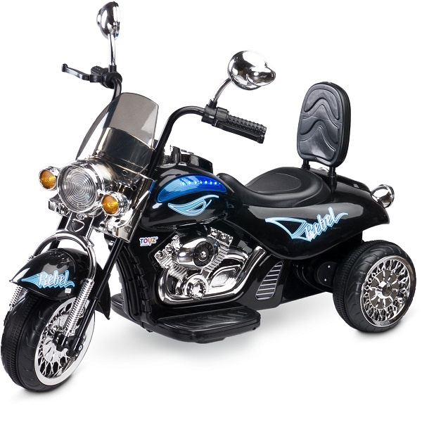 REBEL Black - elektrisk motorsykkel - helt RÅ