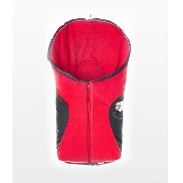 Bilpose / Sovepose - Rød
