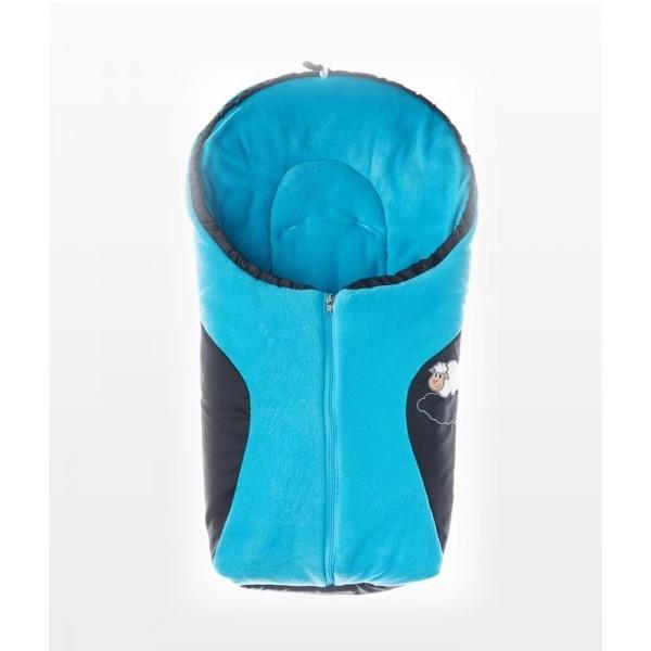Bilpose / Sovepose - Blå