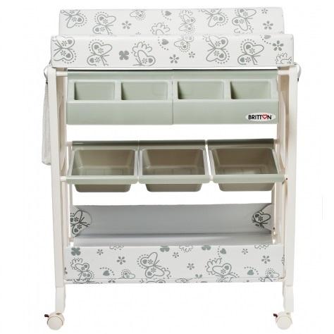 Britton stellebord med badekar - grå