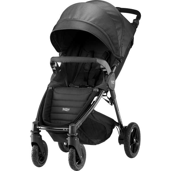 Britax B-motion 4 Plus - Black Denim
