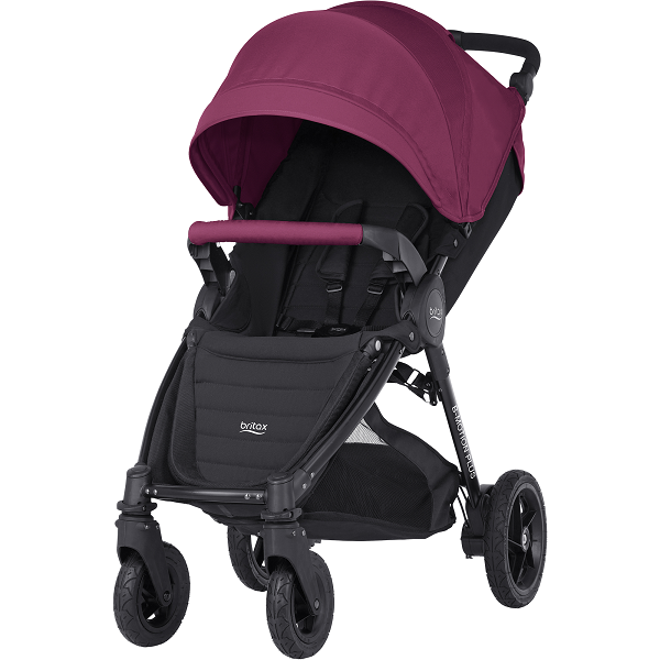 Britax B-motion 4 Plus - Wine Red
