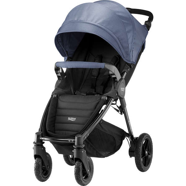 Britax B-motion 4 Plus - Blue Denim