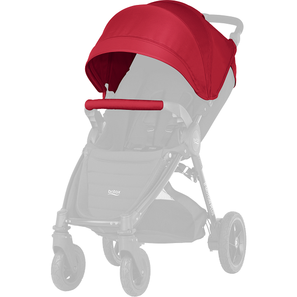 Britax B-motion 4 Plus Kalesje Kit - Flame Red