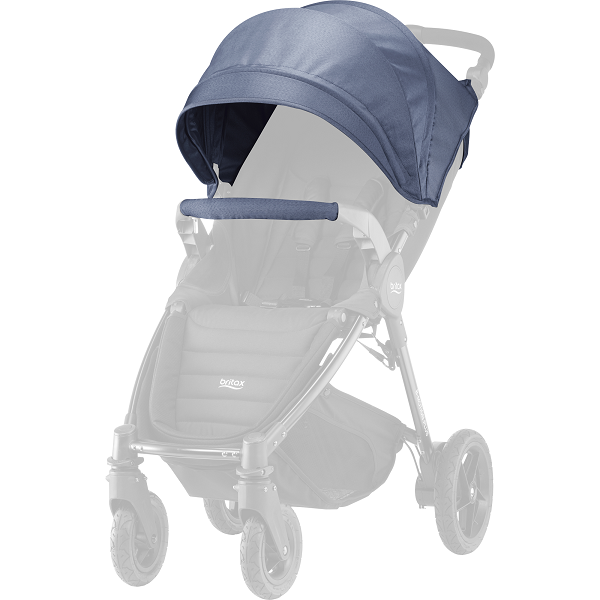 Britax B-motion 4 Plus Kalesje Kit - Blue Denim