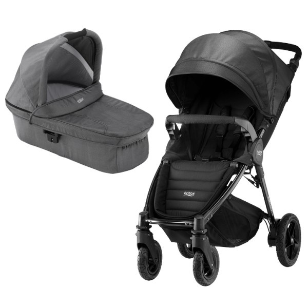 Britax B-motion 4 Plus Duo -  Black Denim