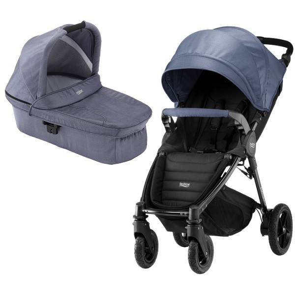 Britax B-motion 4 Plus Dou - Blue Denim