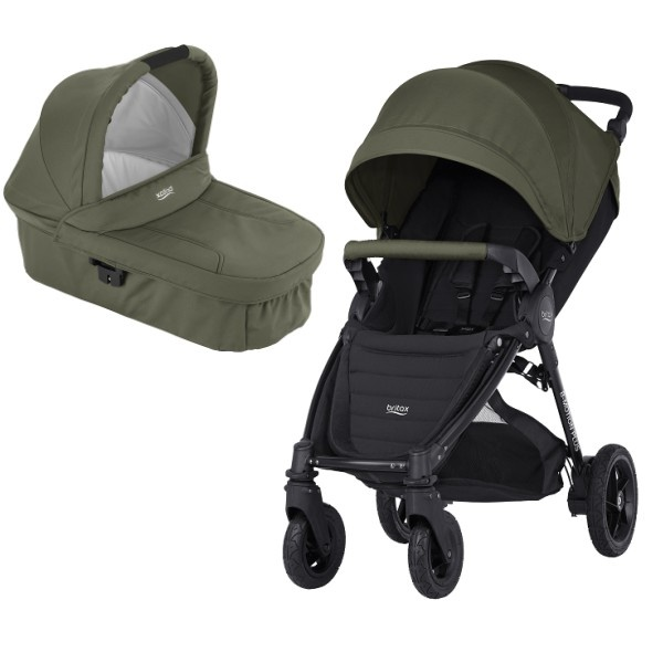 Britax B-motion 4 Plus Duo - Olive Green