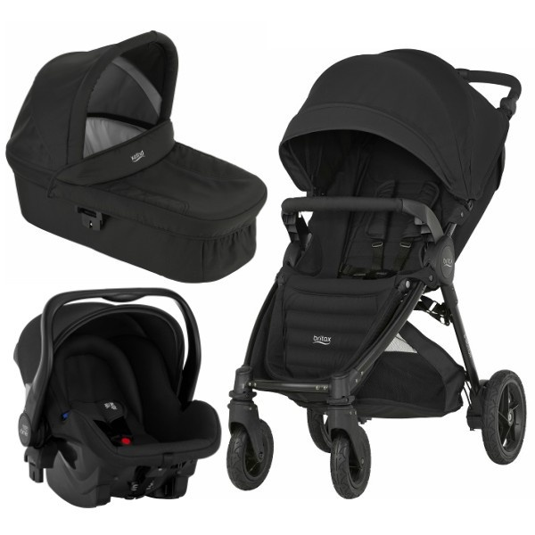 Britax B-motion 4 Plus Travelsystem - Cosmos Black