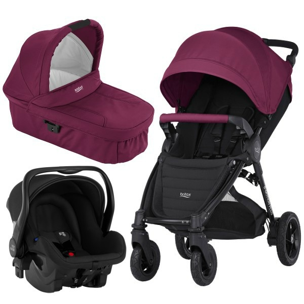 Britax B-motion 4 Plus 3i1 - Wine Red