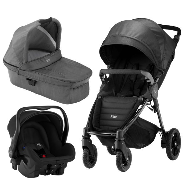 Britax B-motion 4 Plus 3i1 - Black Denim
