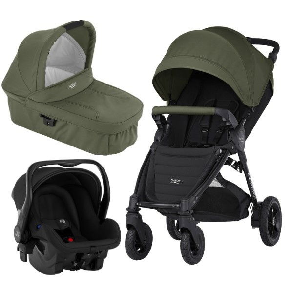 Britax B-motion 4 Plus 3i1 - Olive Green