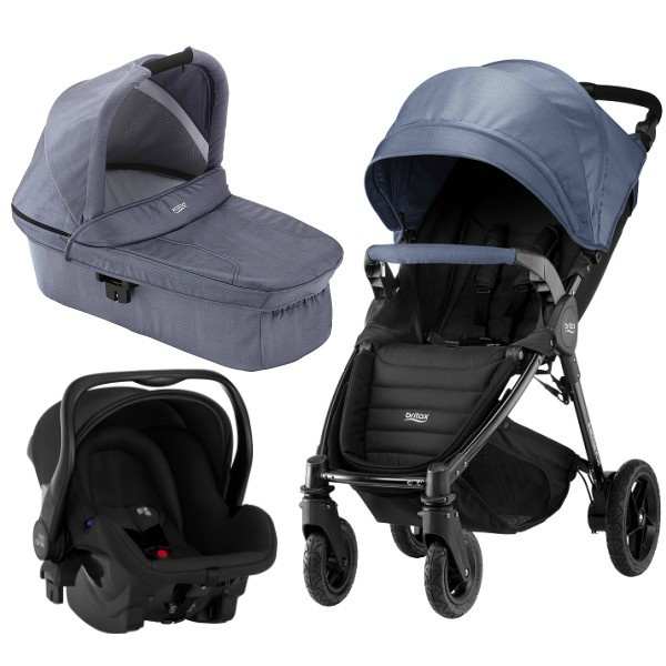 Britax B-motion 4 Plus 3i1 - Blue Denim